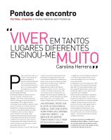 Carolina Herrera Baez-Volta ao Mundo August 2012