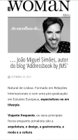 As Escolhas de JMS | Luxwoman Sep 2015