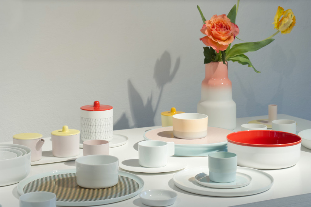5. Colour Porcelain for 1616 / Arita Japan by Scholten & Baijings at Rossana Orlandi - Photography Takumi Ota