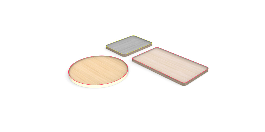 Bamboo Trays by Scholten & Baijings for HAY