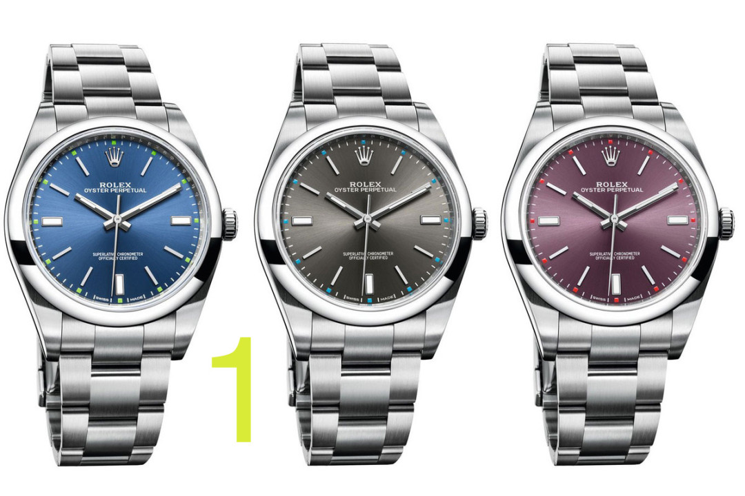 Rolex Steel Oyster Perpetual 39