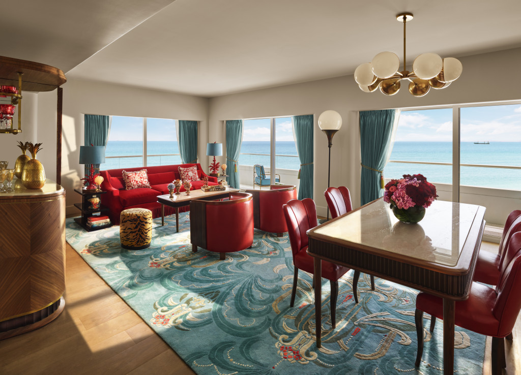 Faena Hotel Miami Beach suite