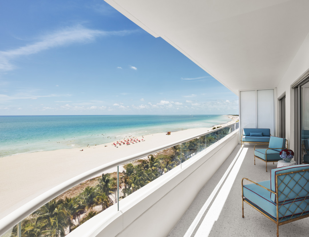 Faena Hotel Miami Beach view
