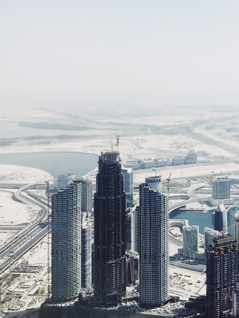 Burj Khalifa – never mind the vertigo: the 160- storey building is more than 800 meters high