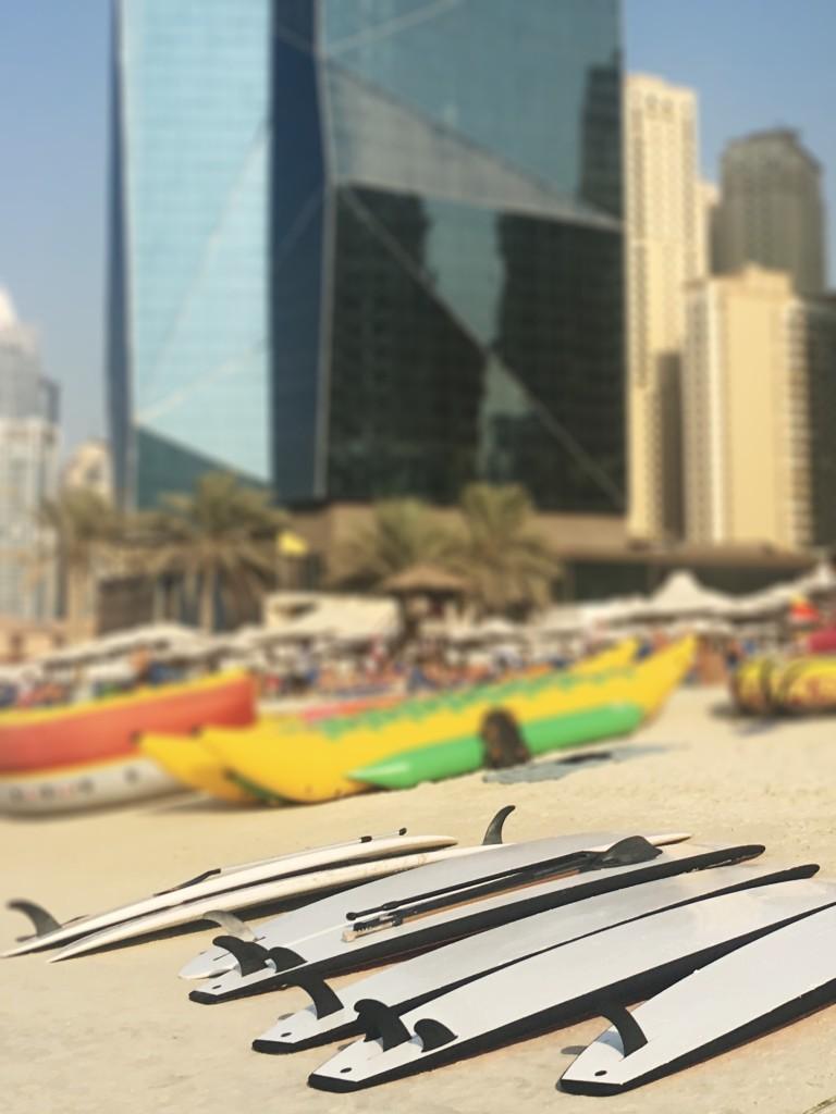 beach in Dubai. JBR